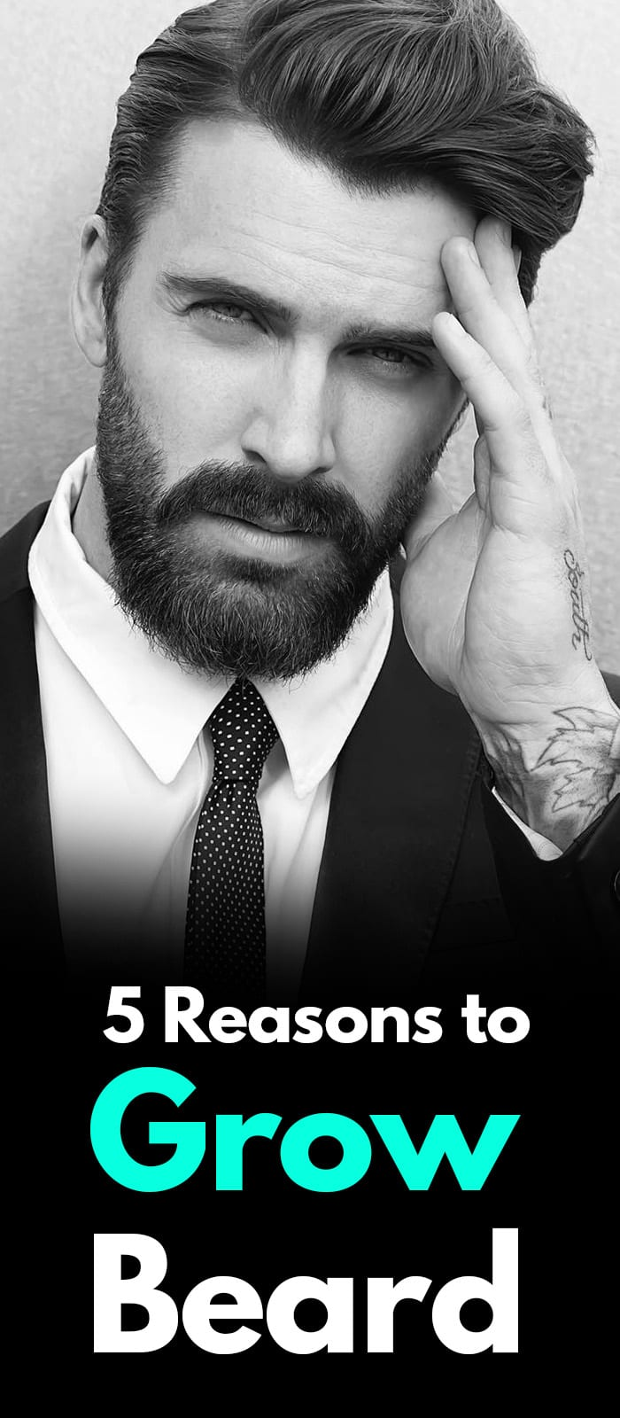 Reasons You Should Grow A Beard It'll Be The Best Thing You'll Do