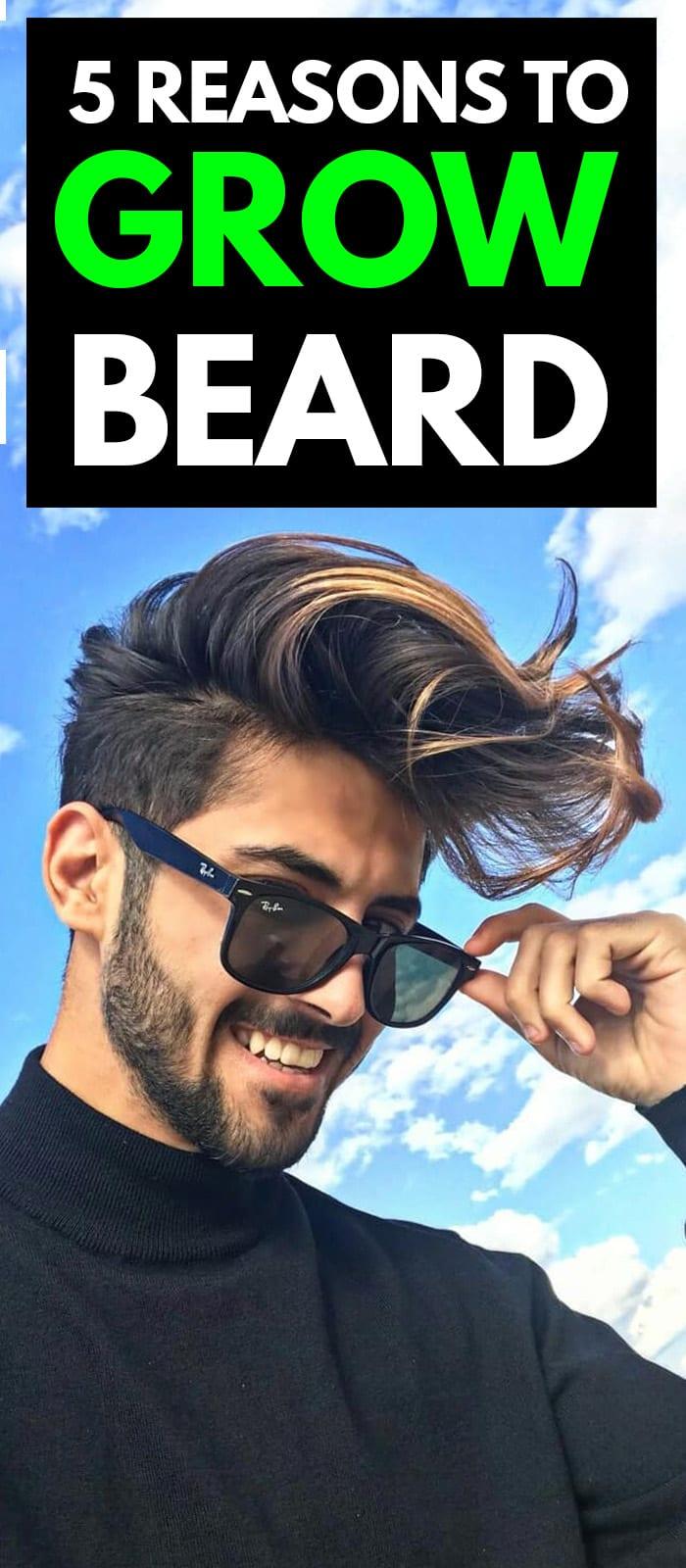 Reasons You Should Grow Beard