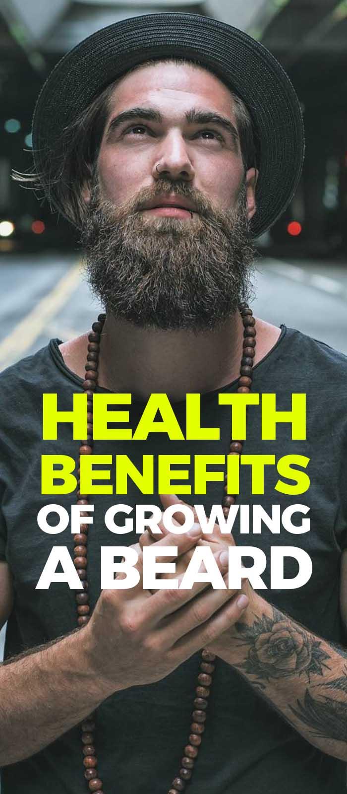 Benefits Of Growing A Beard