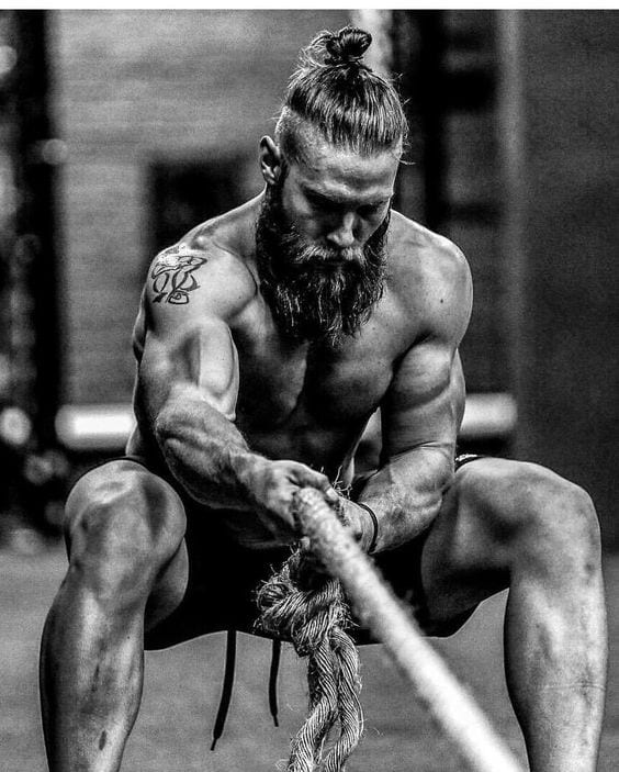 Health benefits by growing a beard