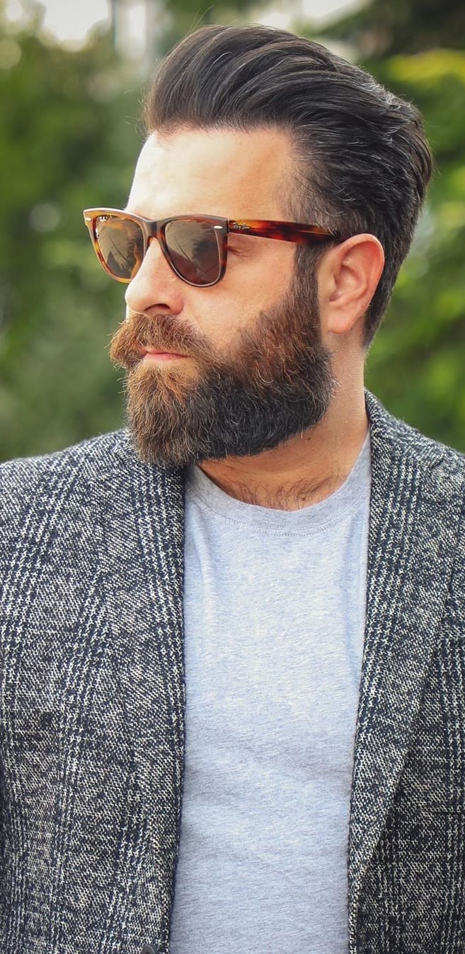 Some Health Benefits Of Growing Full Beards