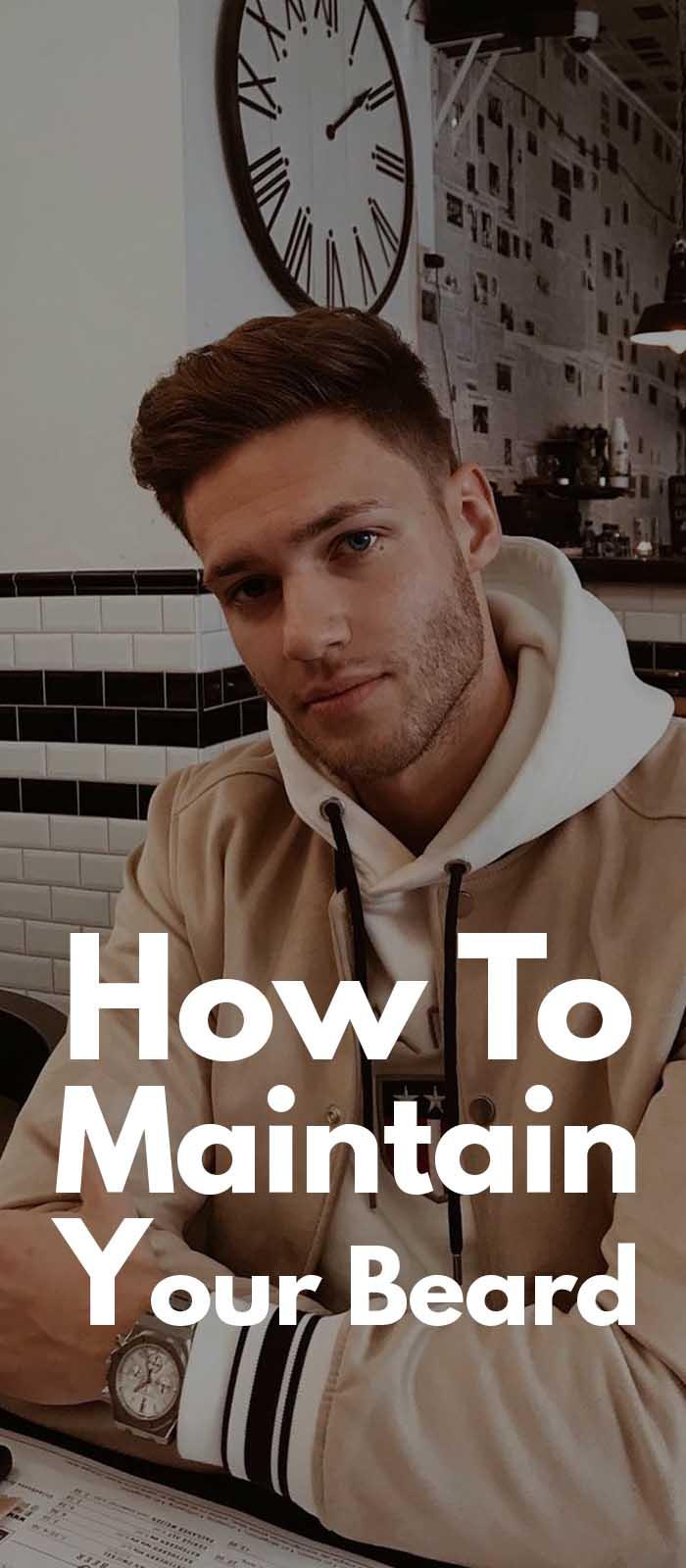 Ways To Maintain Your Beard!