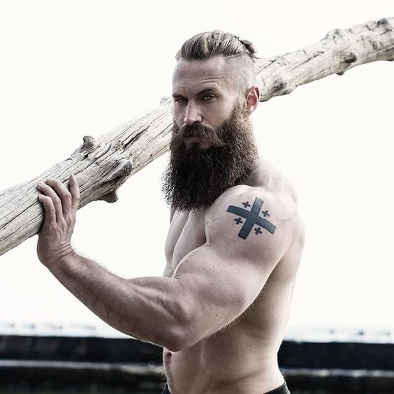 working out or exercising your body helps in growing your beard faster