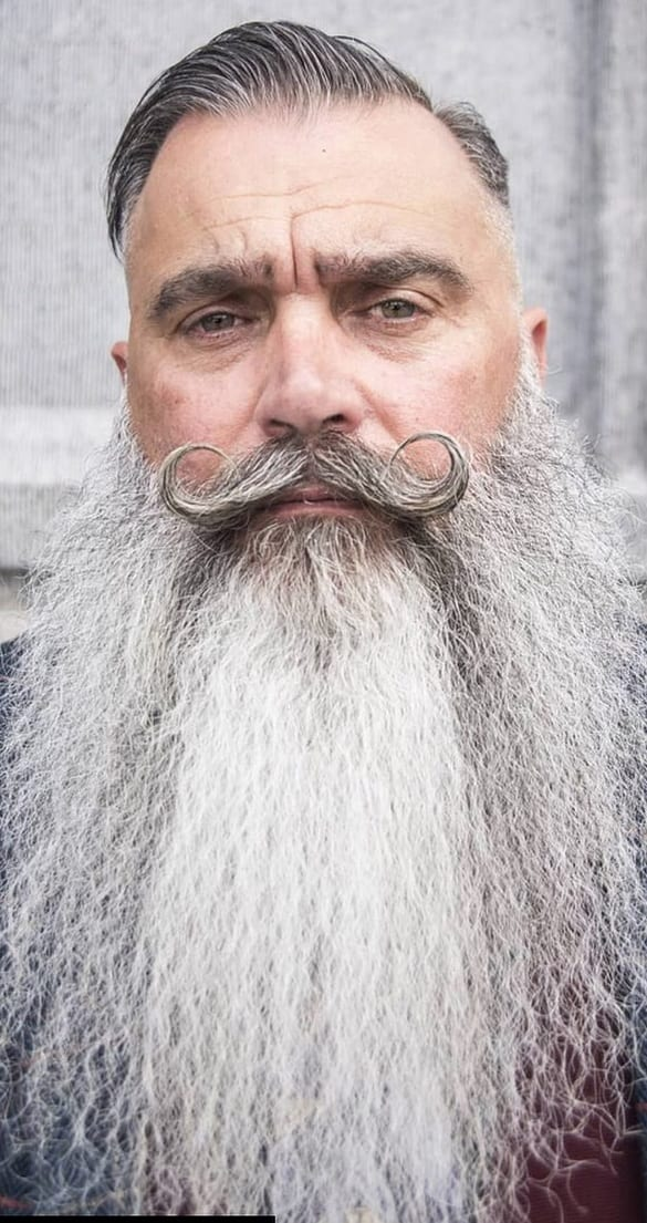 3 Steps to Achieve the Handlebar Moustache
