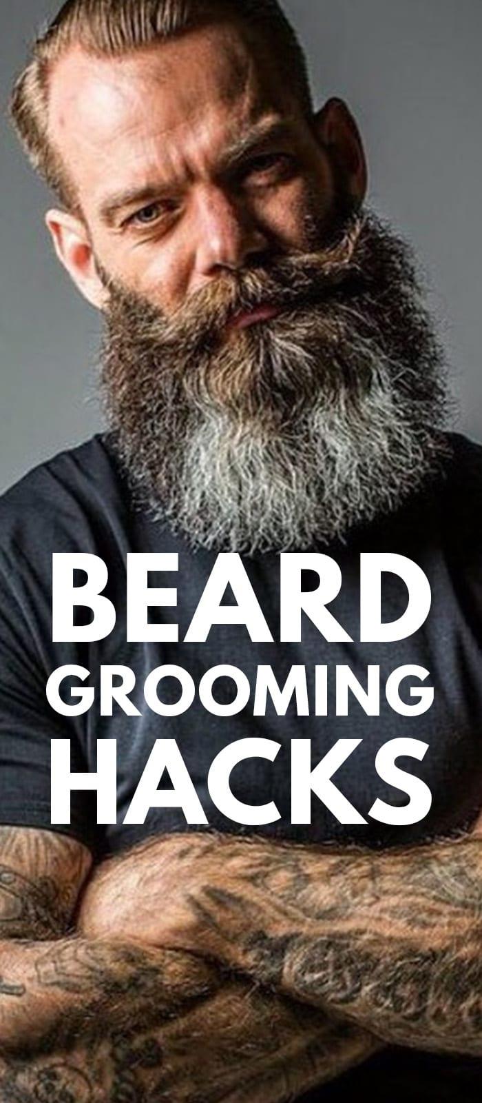 Beard Grooming Hacks.