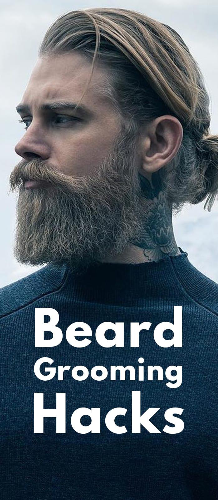 Beard Grooming Hacks
