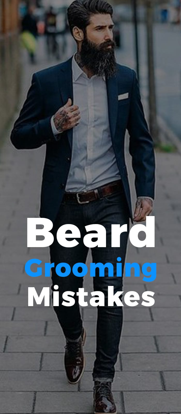 Beard Growing Mistakes
