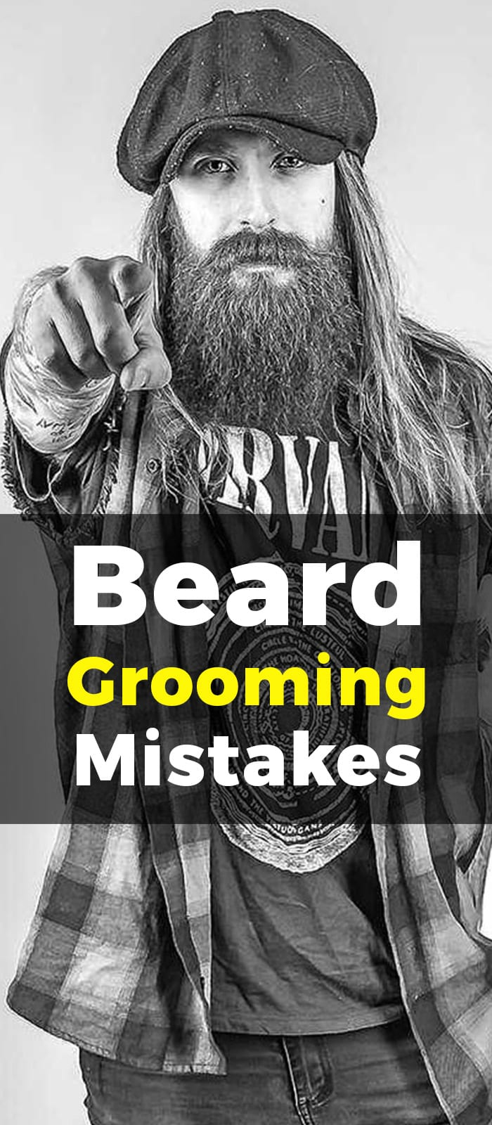 Beard Growing Mistakes.