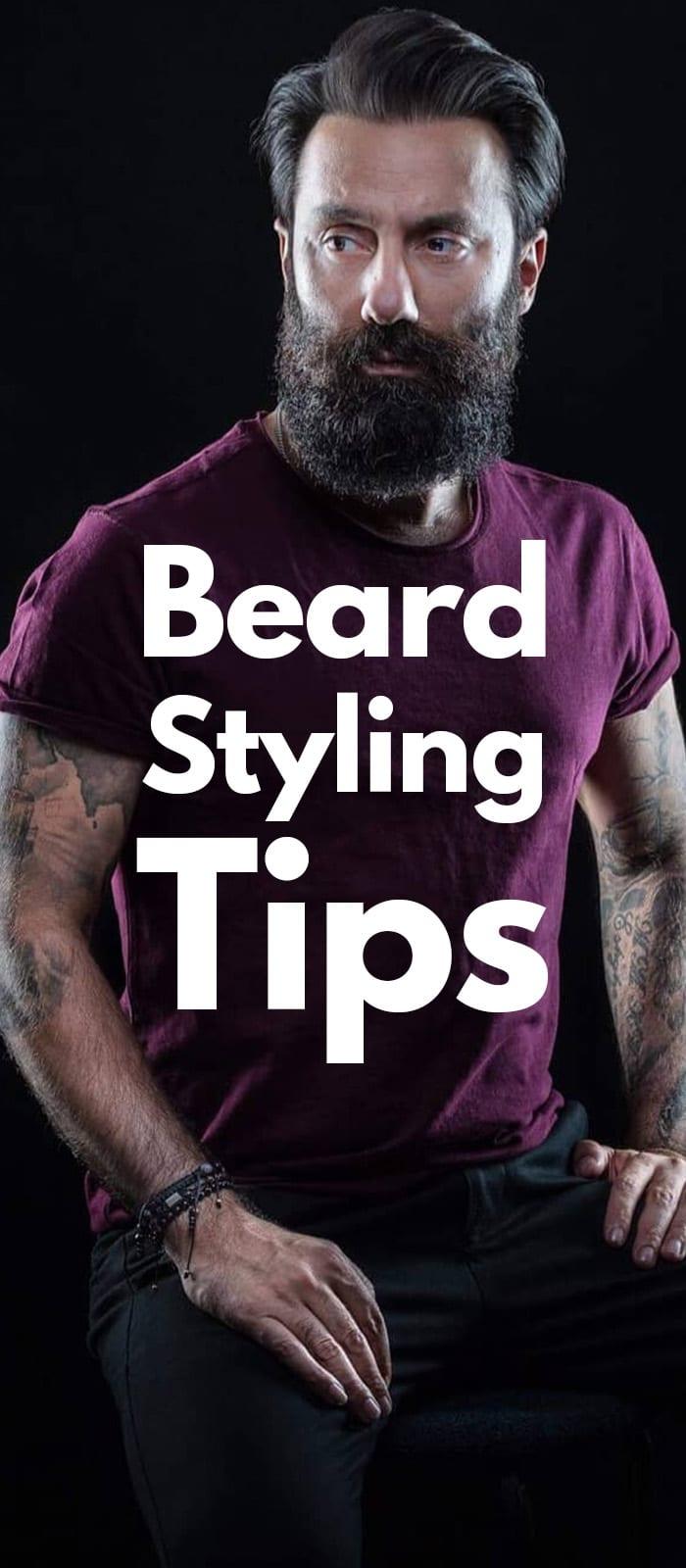 Beard Styling Tips