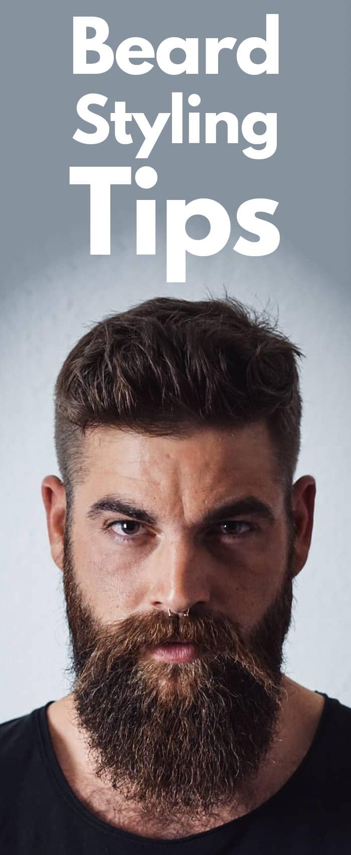 Beard Styling Tips.