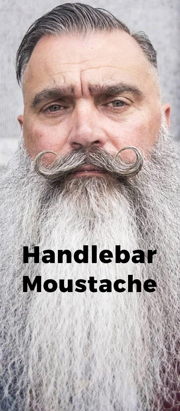 Handlebar Moustache.