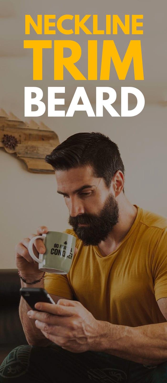 Perfect Neckline Trim Beard.
