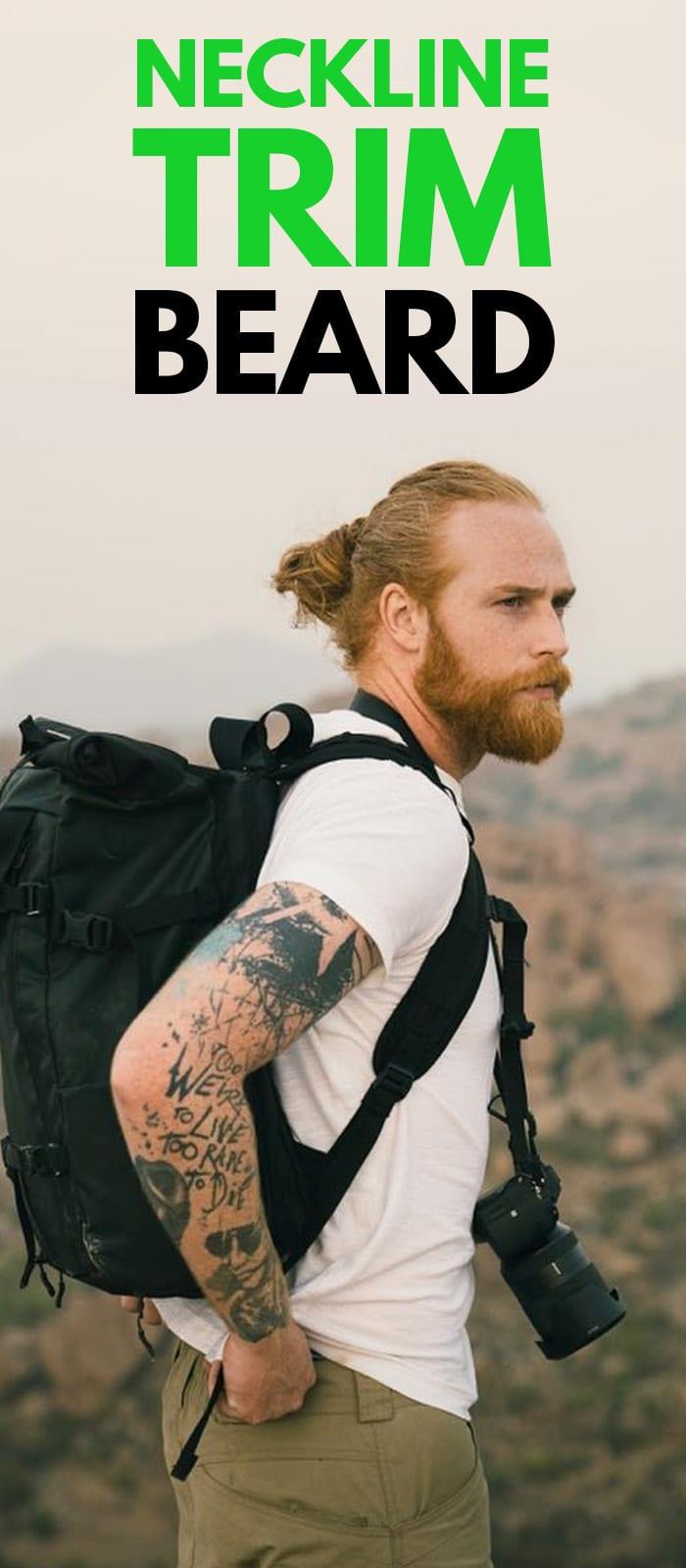 Perfect Neckline Trim Beards