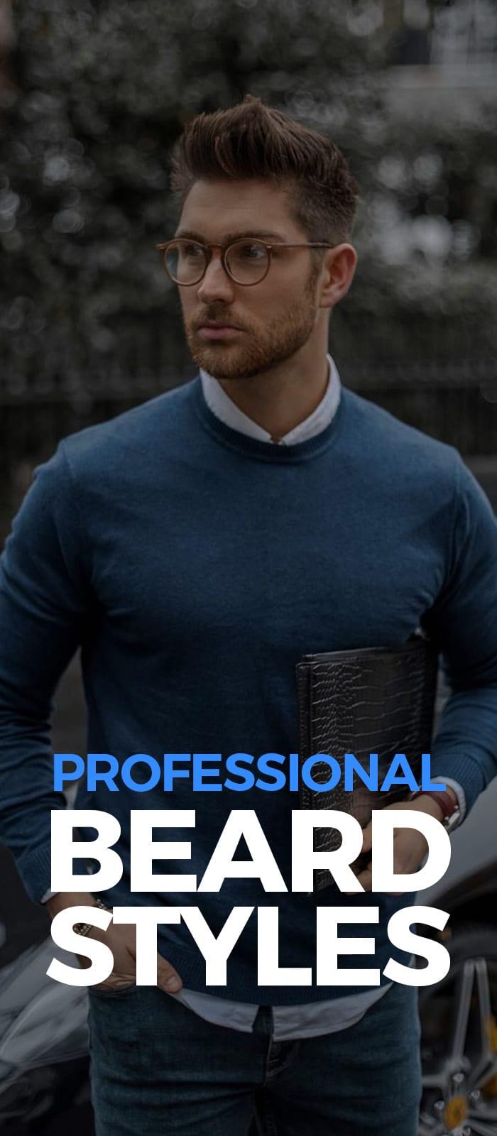 Professional Beard Styles!