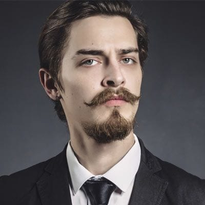 Short Van Dyke beard style