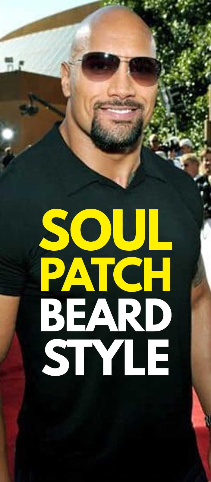 Soul Patch Beard For Men