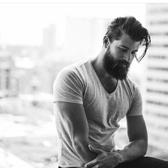 beard and hair styling