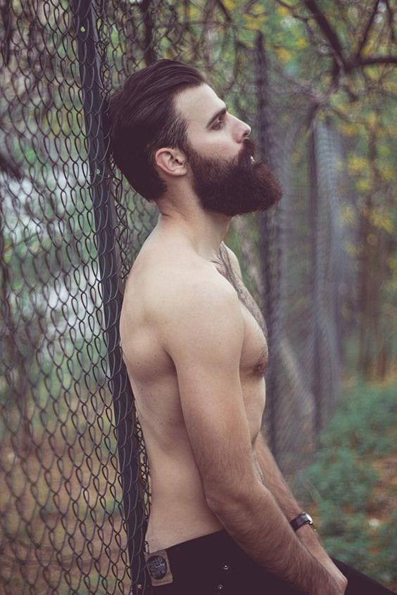 beard neckline trimming