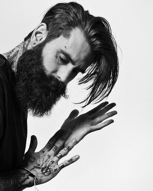 beard styling hack