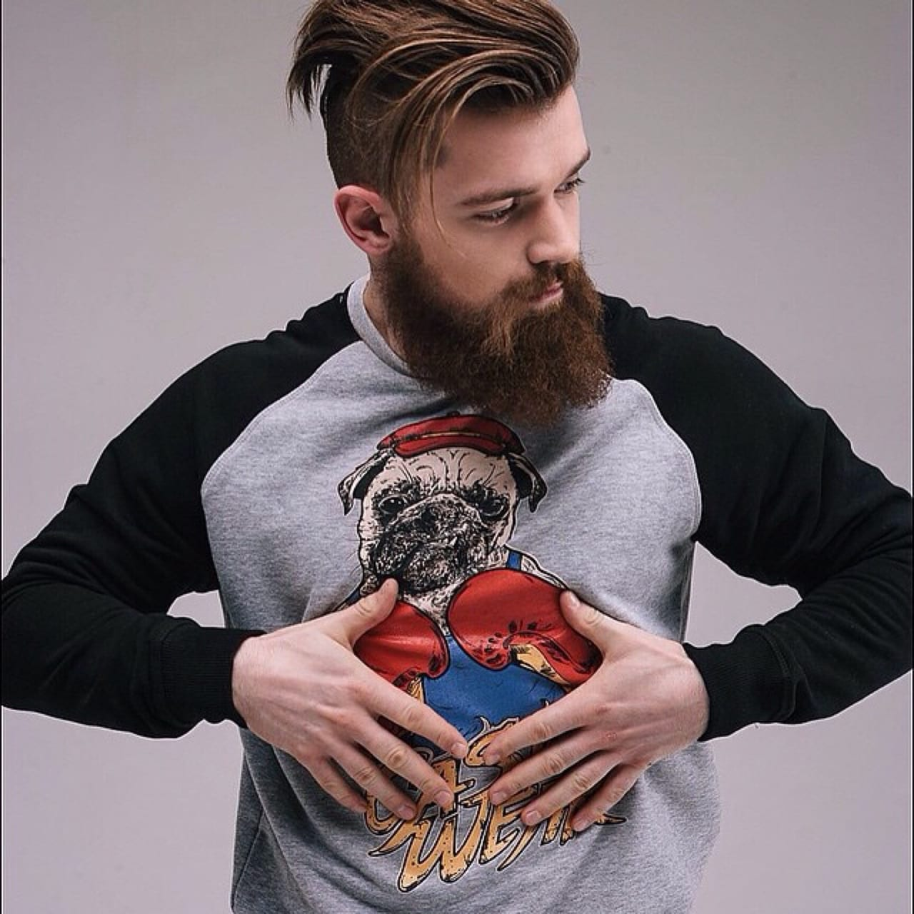 different beard shapes