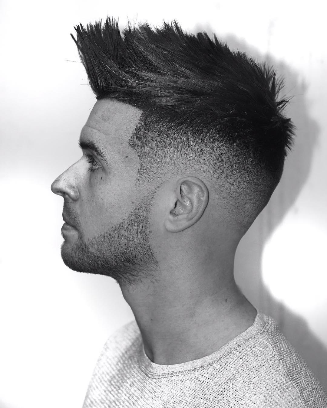 side-burn-for-spike-hair