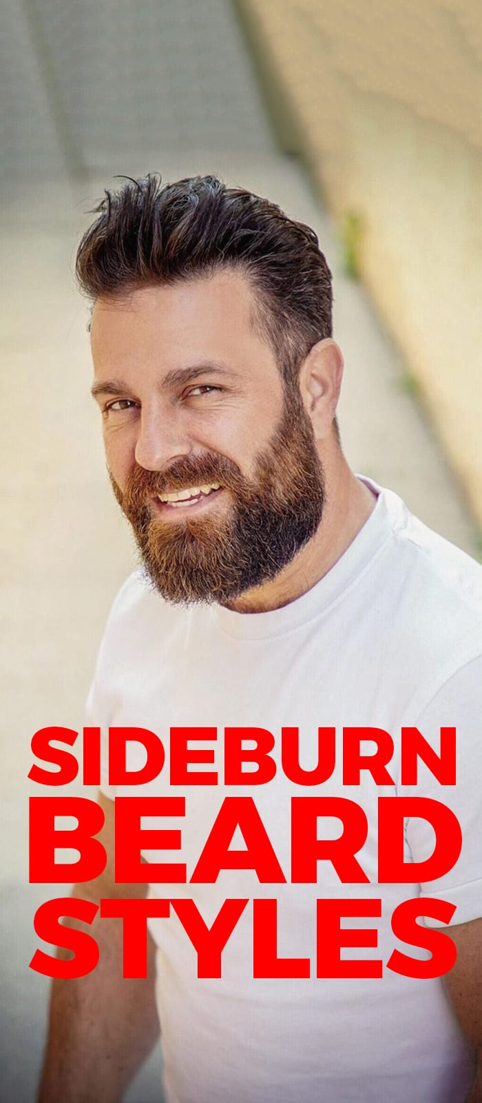 Sideburns For Beard