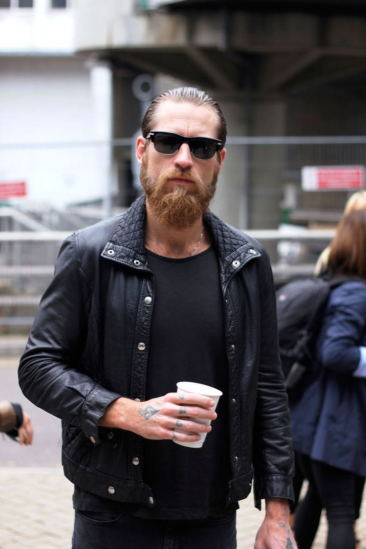 ducktail-beard-withsunglasses