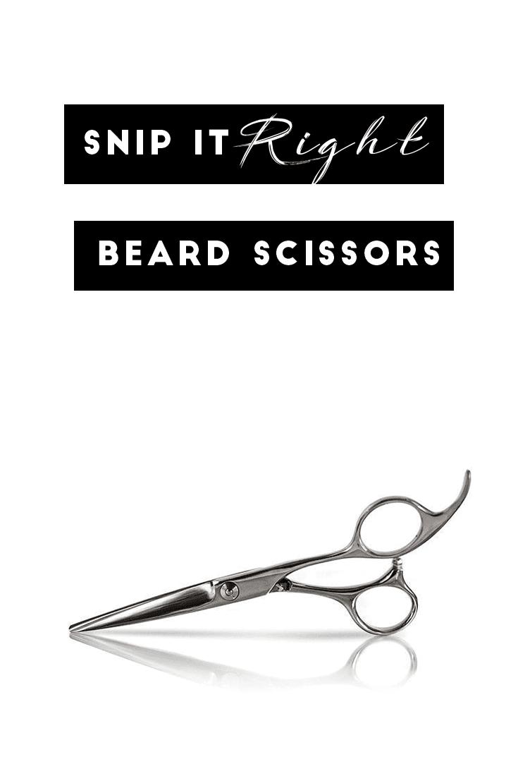 Beard Grooming tool - beard Scissors
