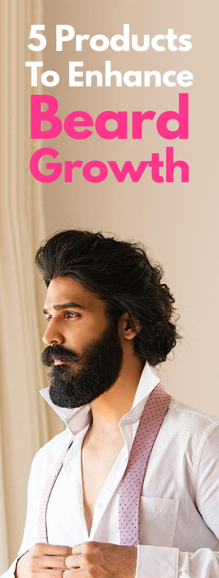 Beard Growth For Men