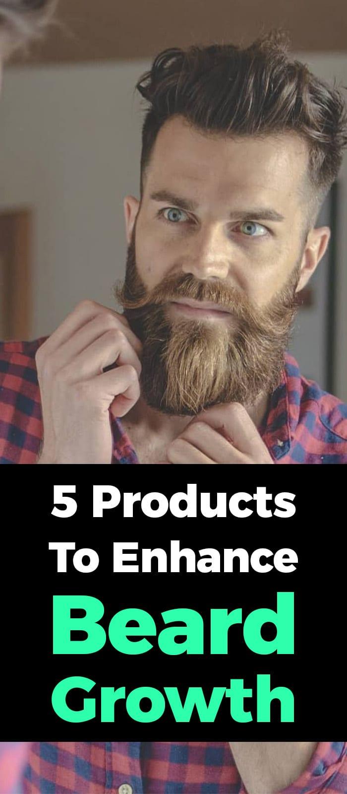 Beard Growth For Men.