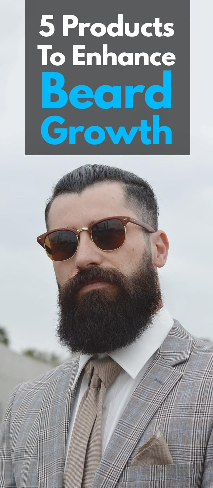 Beard Growth For Men!