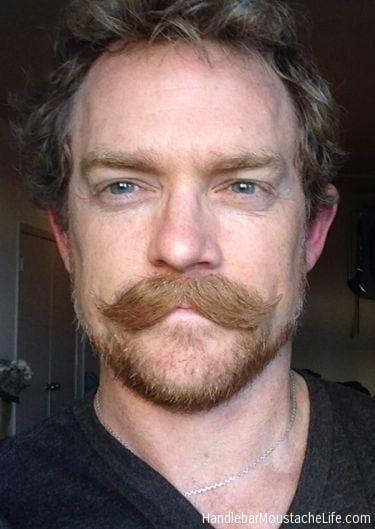 gunslinger casual style thick moustache masculine look bearded men