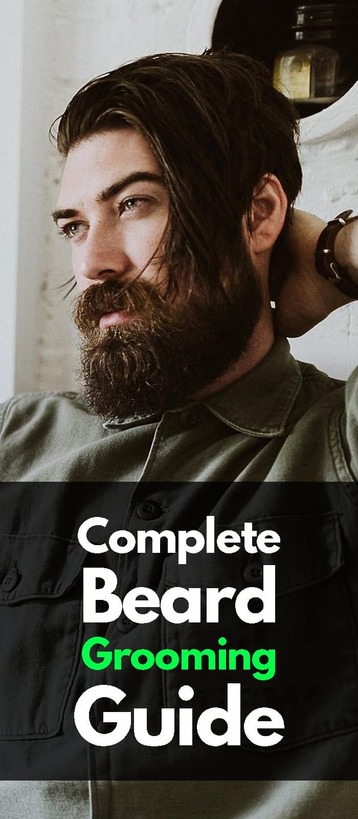 Beard Grooming Guide.
