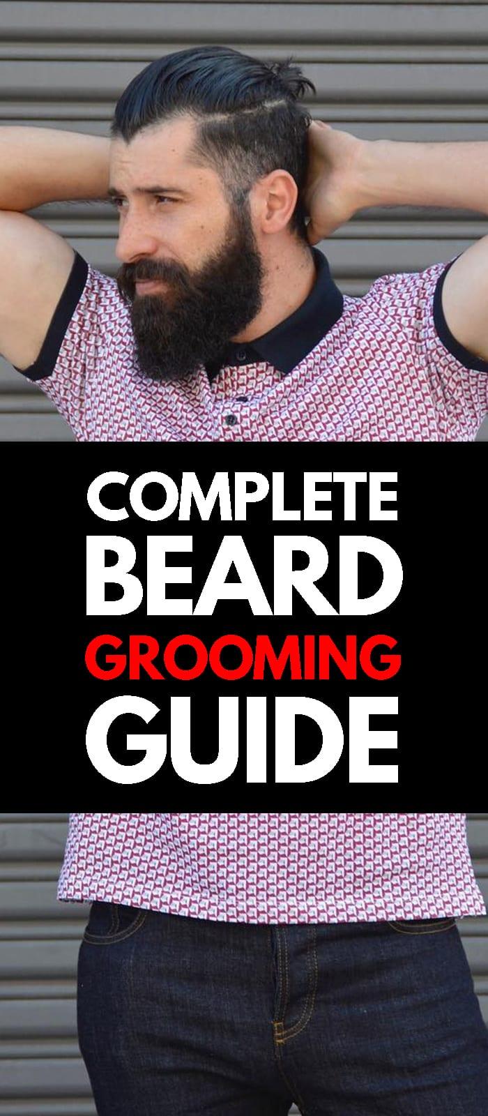 Beards Grooming Guide