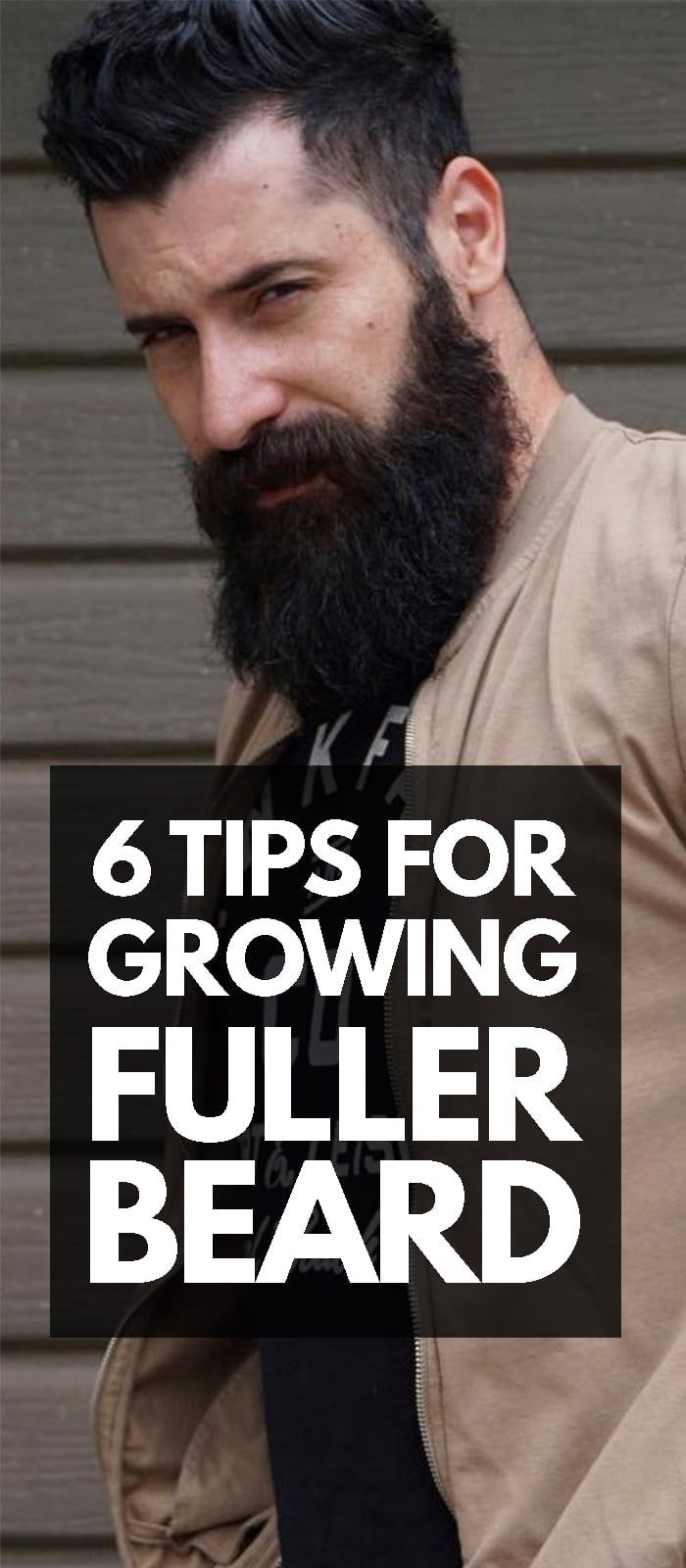 6 Tips For Growing a Full Beard