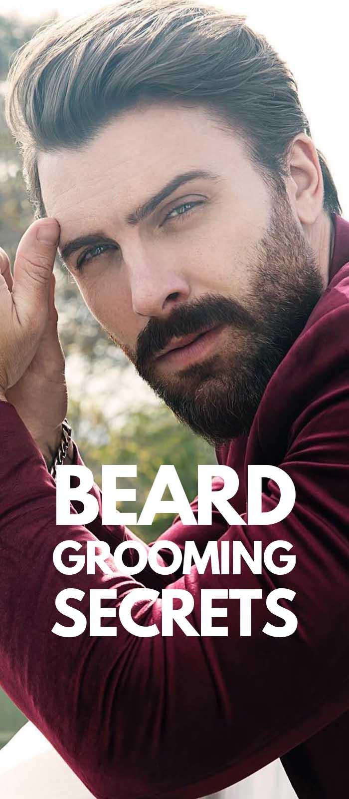 Beard Grooming Secrets For Bearded Men
