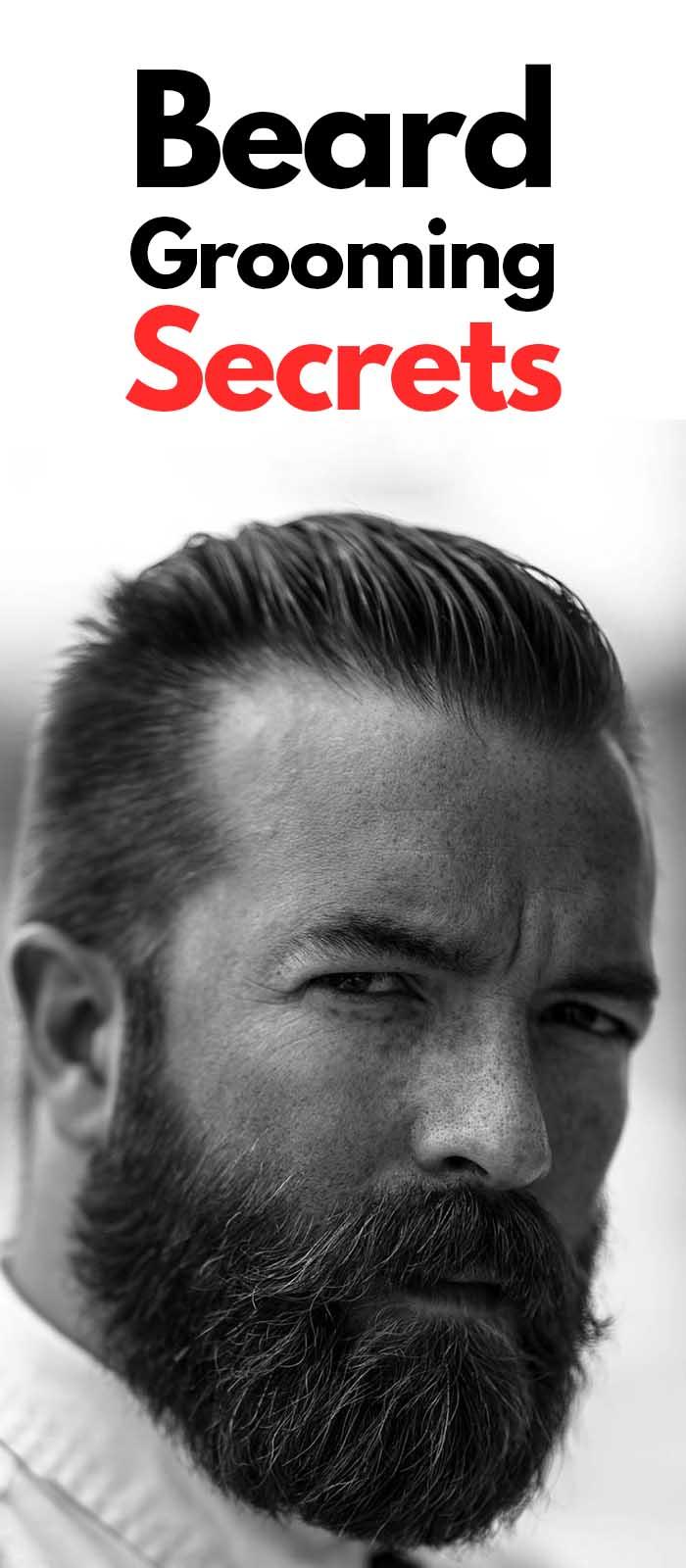 Beard Grooming Secrets For Bearded Men!