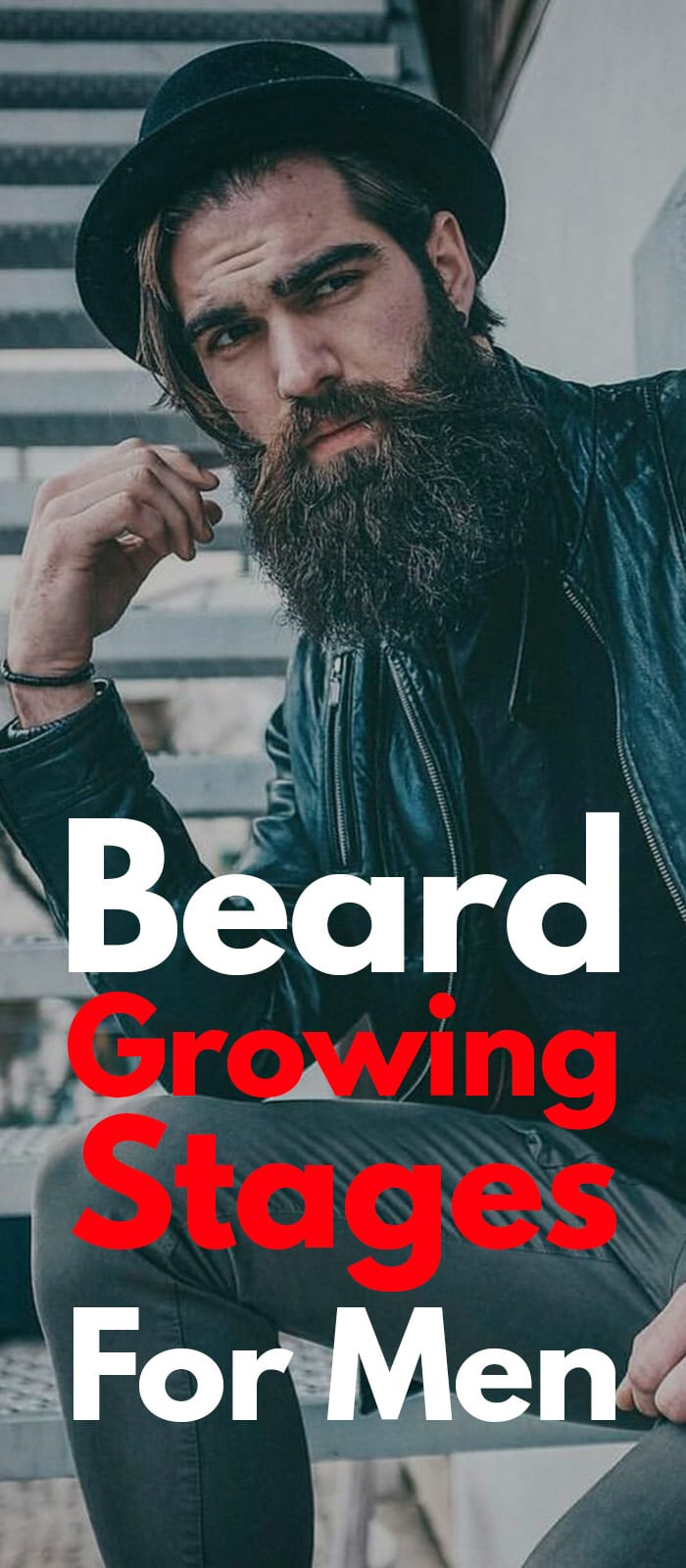 Beard Growing Stages!