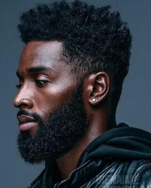grown beard