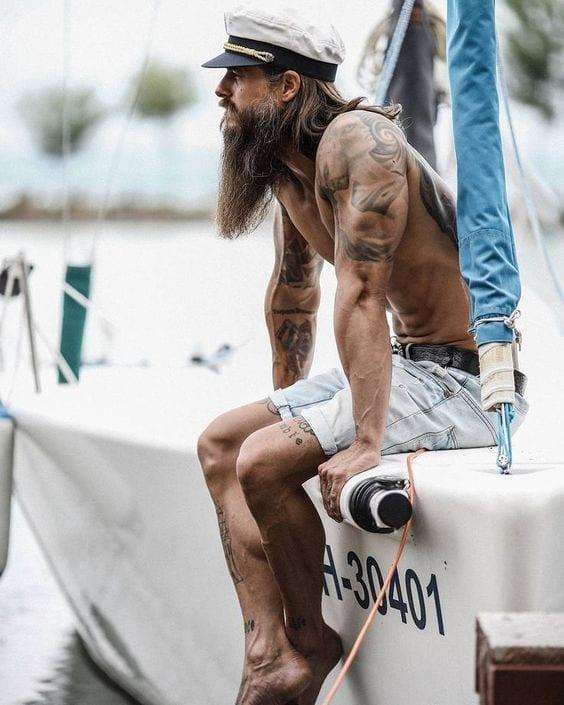 long beard grooming