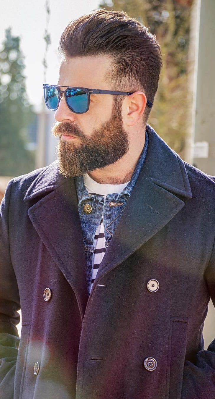 Beard And Hairstyle Combination For Men In 2019