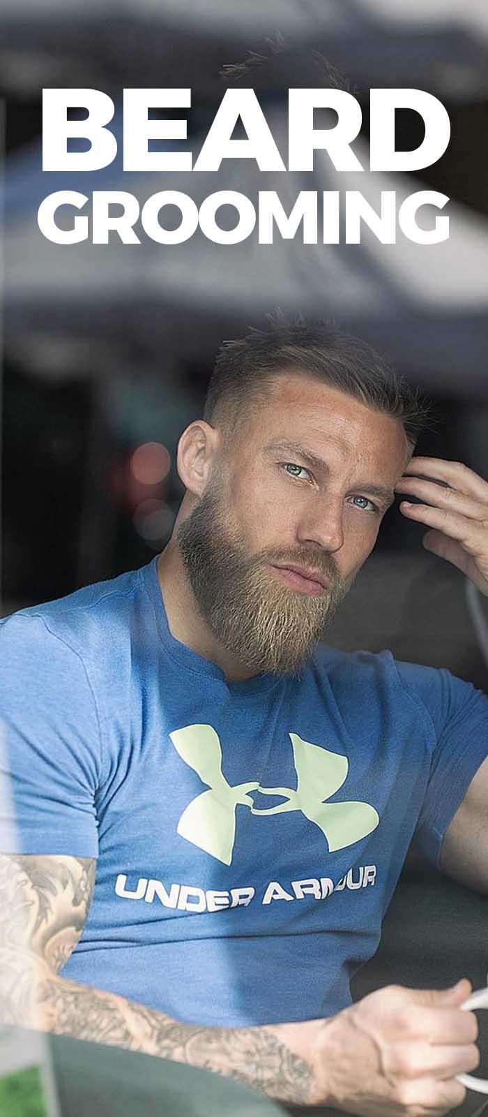Beard Grooming .