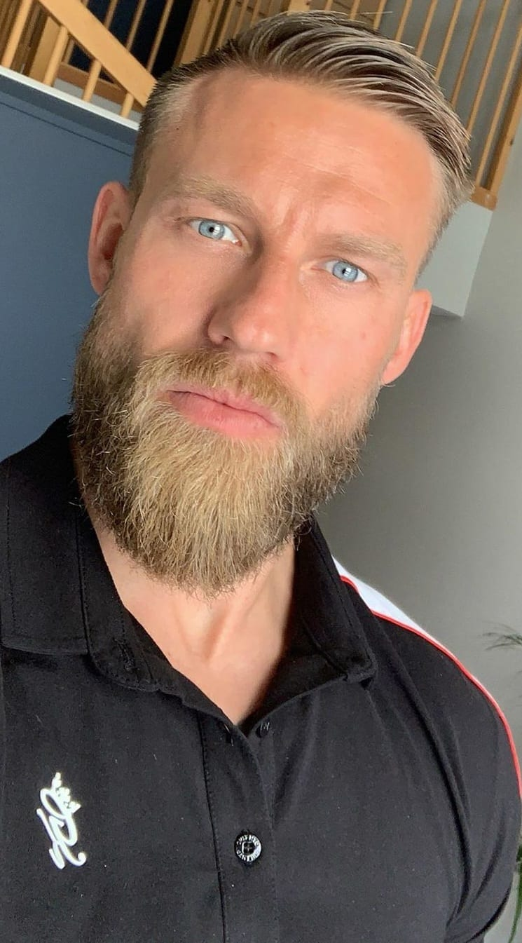 Beard Styles Men Should Try To Compliment Combed Back Hairstyle!
