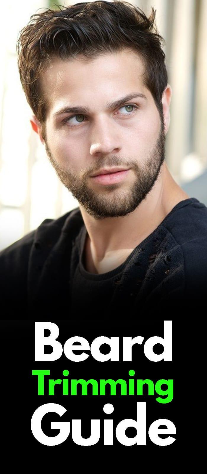Beard Trimming Guide!