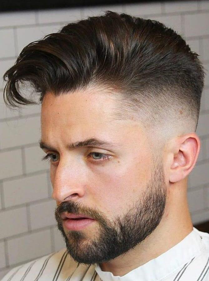 Beard style for short haircuts