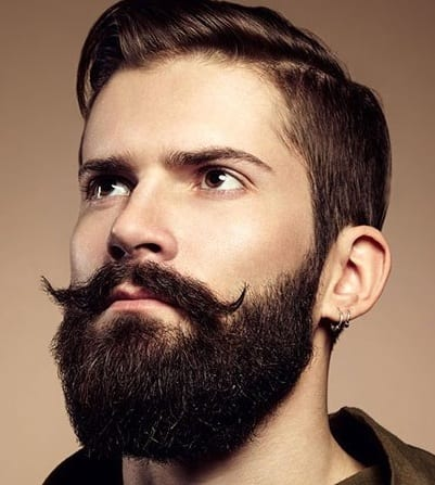 Beard-trimmed-styled-trimming-styling-razor