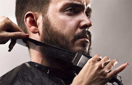 Beard trimming scissors perfect trimming manual man