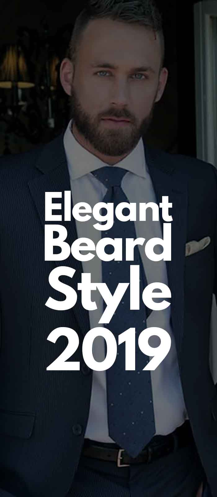 Blue Suit Professional Beard Look!