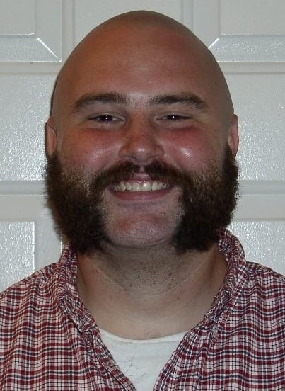 Busy Mutton Chop Beard style for men
