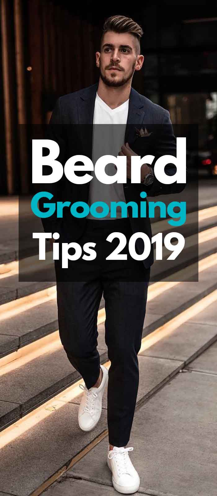 Casual date beard look for men!